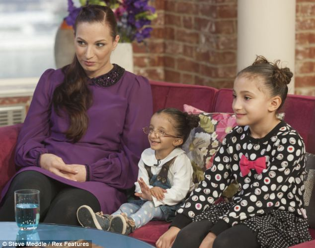 Suraya Brown (pictured with her mother Atlanta Dujmovic and sister on This Morning) is one of the smallest girls in the world