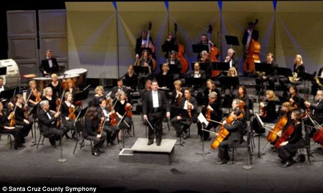 Violinist: Edy was a retired software developer who also acted as the vice president of artistic advisory for the Santa Cruz County Symphony Orchestra, pictured