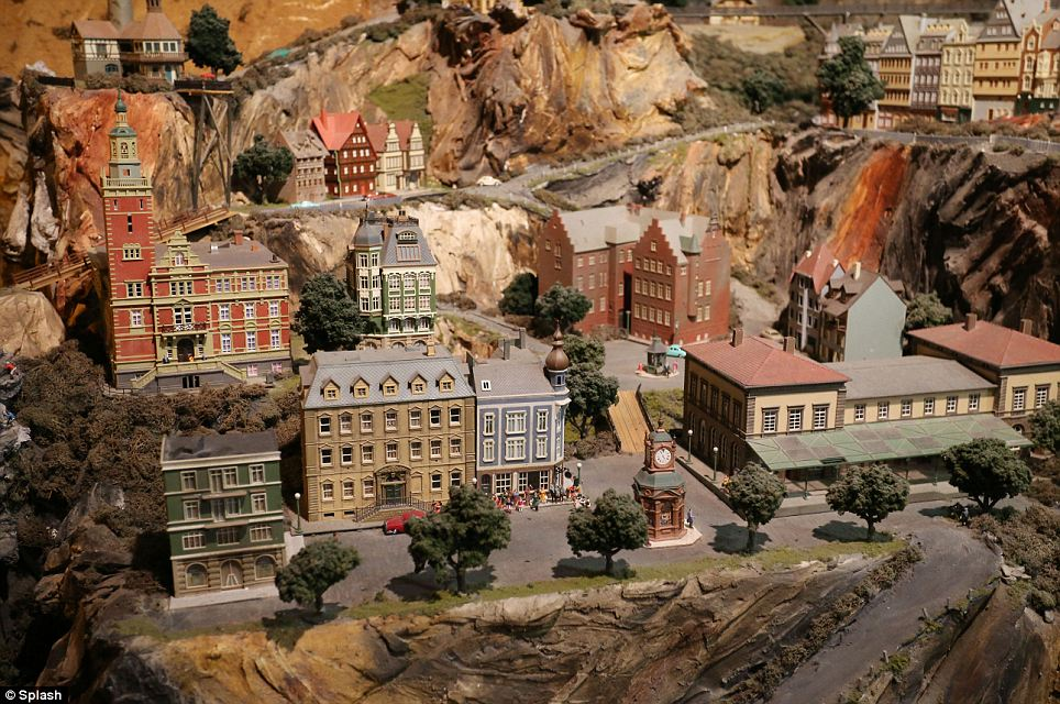 Swiss Alps? No, its Northlandz, the world's largest model railroad in Flemington, New Jersey