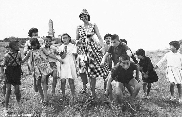 Horrific: Jill's fun-loving instincts made her popular with children