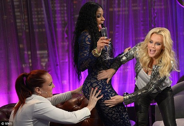 Host with the most: The 40-year-old is currently hosting her own show The Jenny McCarthy Show Jenny