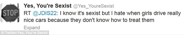 Yes, You're Sexist