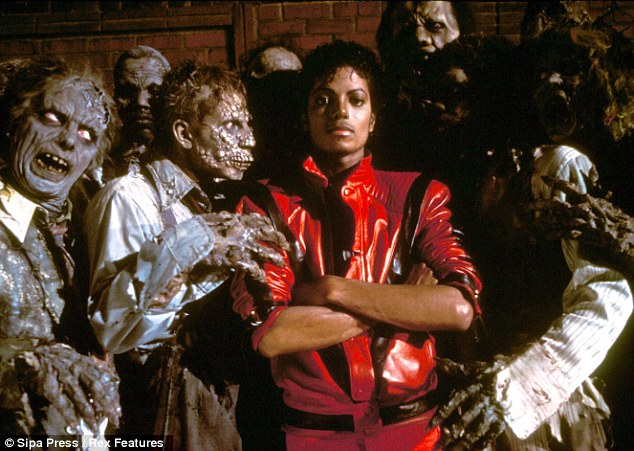 King of pop: Jackson was invited to the White House in the year Thriller won eight Grammy awards