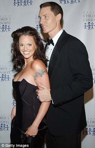 The couple is pictured in 2004
