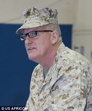 Have you seen this man? U.S. Marine Corps Col. George Bristol commanded the Special Operations units in Northern Africa when terrorists attacked American diplomatic posts in Benghazi, Libya