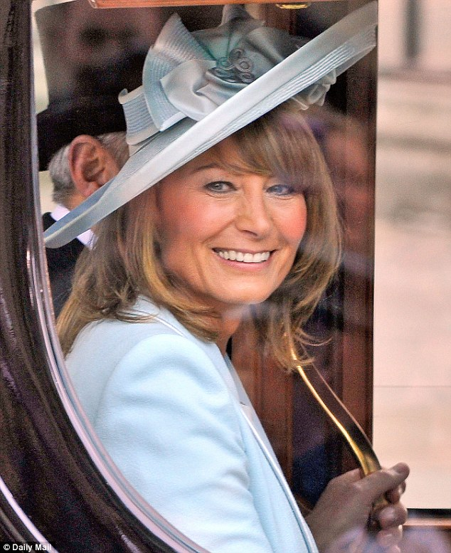 Call the midwife? No need! Carole Middleton was trained how to cope with passengers going into labour during her air hostess training back in 1976