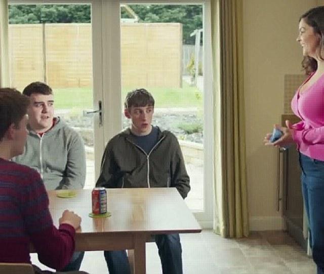 Fury The Irn Bru Advert Starring Marianne Adams 43 As A Buxom Mother