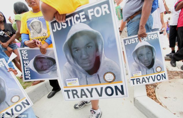 Thousands of posters were printed demanding Zimmerman's arrest for killing Martin. These signs were funded by the Service Employees International Union local 1199, a health care workers union