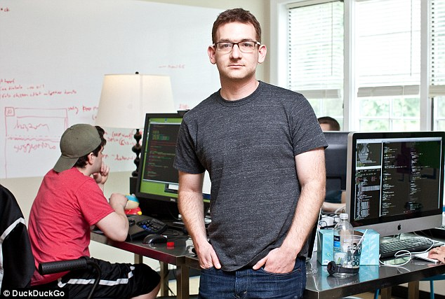 At just 33, DuckDuckGo founder and CEO, Gabriel Weinberg has tapped into a niche market - offering Internet users real privacy when searching the world wide web