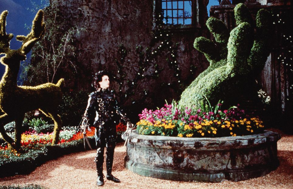 The competition may remind some of the spectacular creations made by Johnny Depp's Edward Scissorhands in the 1990 Tim Burton film