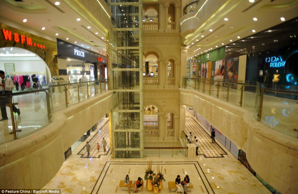Shopper's paradise: