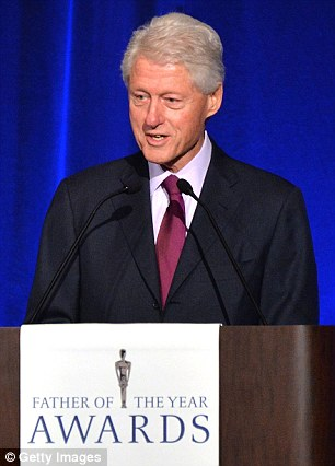 Good sport: Erstwhile US President Bill Clinton spoke to Bieber following his verbal attack, pictured in New York in June