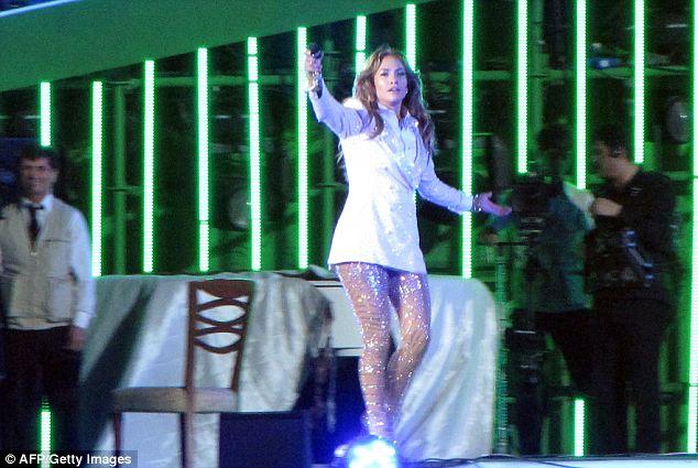 Ta da! Jennifer Lopez gives birthday performance for Turkmenistan president Gurbanguly Berdymukhammedov June 29. Lopez is under fire for taking over $1M from the notoriously repressive leader