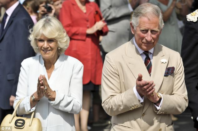 Visit: Prince Charles and the Duchess of Cornwall were in Bude, Cornwall, on their annual trip to the Westcountry