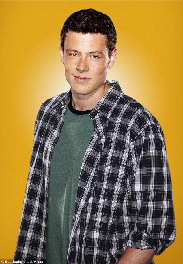 'Double life': Cory Monteith allegedly lived a dual existence as a hard-working actor in Los Angeles and a substance abuser in Vancouver, Canada, pictured in 2009