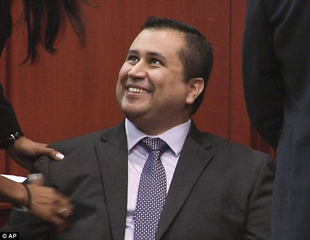Cleared: The juror said that she felt that Zimmerman went above the bounds of what he should have done but 'his heart was in the right place'