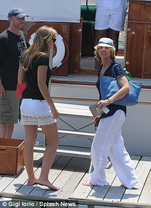 Kerry Kennedy And Daughter Mariah Cuomo Soak Up The Sun On