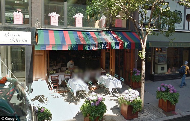 Nello in New York's Upper East Side is well known for being 'absurdly expensive' and is typically a hangout for celebrities such as Jay Z