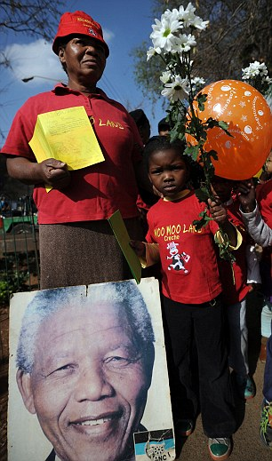 Tributes: Mandela's birthday takes on extra poignancy this year following weeks of ill health
