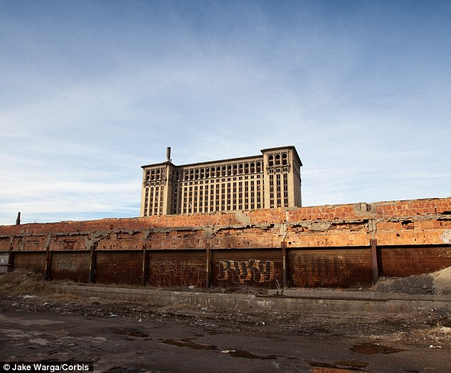 Abandoned: Iconic buildings, such as Michigan Central Train Station, are deserted and residents are leaving
