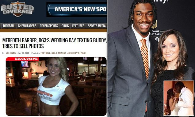 A tangled web of tweets, texts and emails has emerged after a young woman claimed to have incriminating photographs of newlywed quarterback Robert Griffin III.