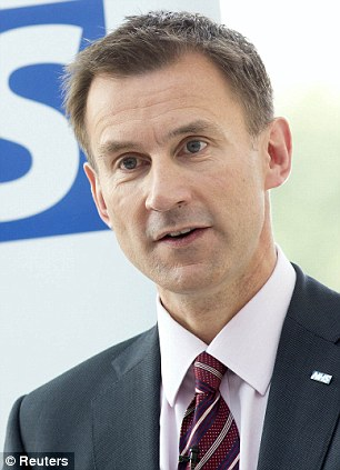 Britain's Health Secretary Jeremy Hunt has been outspoken in his support for homeopathy
