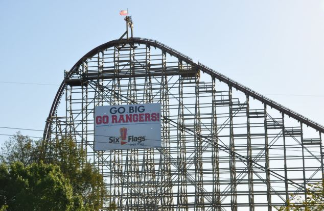 Witnesses who saw the woman tumble from the ride directed paramedics to the victim's location.