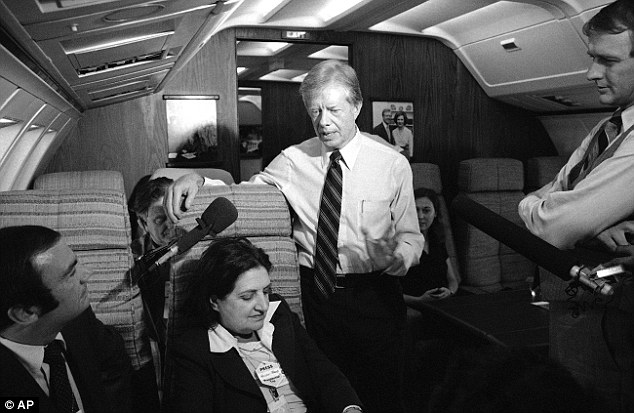 Flying White House: Thomas interviews President Jimmy Carter aboard Air Force One