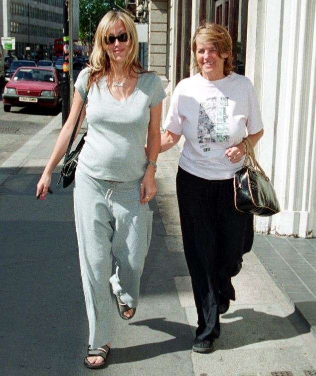 Mrs Appleton, said her daughter (pictured here in 2001) had not yet told her and Gallagher¿s son Gene, 12, or his son Lennon, 13, with his first wife Patsy Kensit