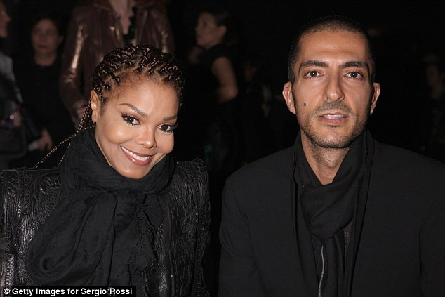 Boss: Billionaire Wissam Al Mana, managing director of Al Mana Interiors, pictured right with wife Janet Jackson, signed off on a termination letter firing Marte Deborah Dalelv for 'improper behavior'