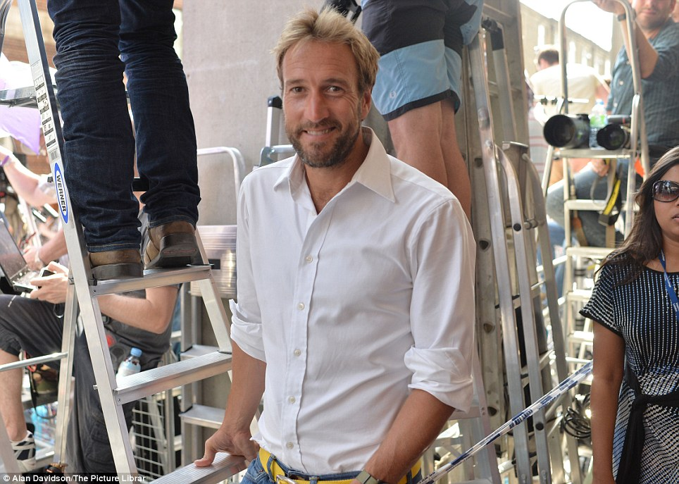Popping by: TV star Ben Fogle's has sister was also admitted to the Lindo wing at 8am this morning to have her baby