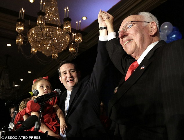 The American Dream: Cruz with his Cuban emigre father Rafael