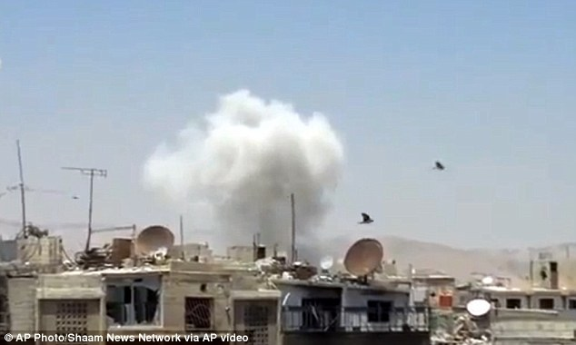 Heavy bombing in Damascus has led to countless fatalities. Britain has sent help to the Free Syrian Army, including communications equipment, but has not taken a decision on sending weapons