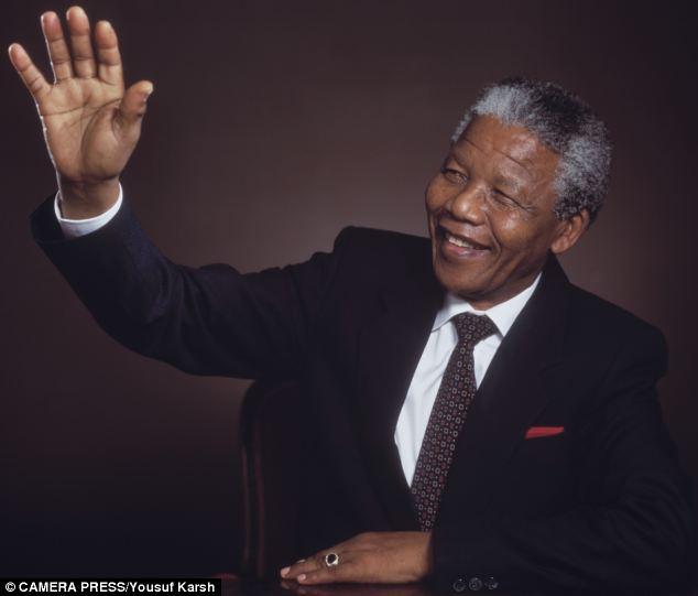 Towering figure: Nelson Mandela