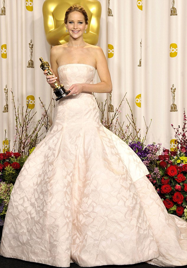 Jennifer Lawrence is the highest ranking actor in the rich list, propelled by her Oscar-winning performance in Silver Linings Playbook