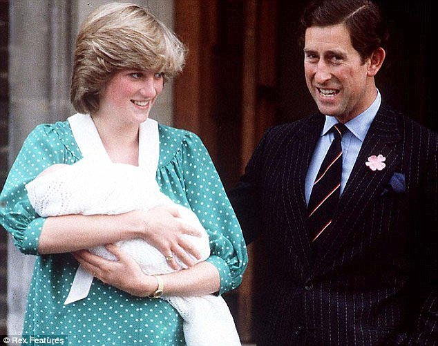 Was Kate's frock choice a nod to history? To the similar green polka dot frock sported by Princess Diana when she held her son on these very same steps 31 years ago?