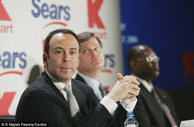 Sears CEO Edward Lampert is denying a report that he used a fake name to harass employees on the company's internal social network