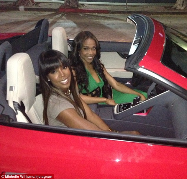 Who knew they were petrol heads? The girls dressed up to the max as they met up in Hollywood for the birthday celebrations