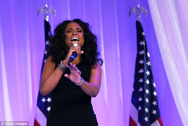 Singer Jennifer Hudson was among entertainers summoned to the White House this week for a strategy session aimed at persuading young Americans to enroll in health care exchanges