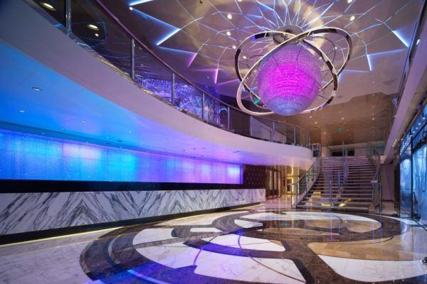 The oceanic behemoth boasts 189 rooms