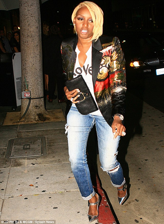 NeNe Leakes Steps Out After She Responds To Wedding