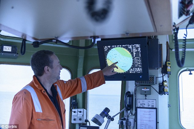 Hijack: A team of researchers at the University of Texas were able to take control of the navigation system aboard a ship in the Mediterranean Sea using a laptop, a small antenna and an electronic GPS 'spoofer' (Stock photo)