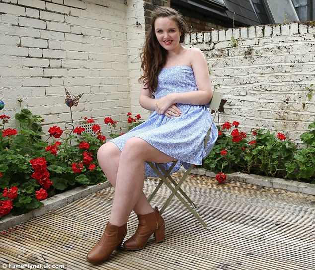 Seanie Nammock, 17, has a debilitating genetic condition that causes her to grow a 'second skeleton'