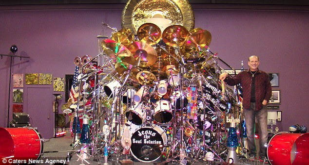 Religious Cymbal Rocking Reverend Has Worlds Biggest