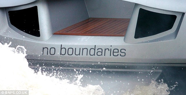 The 48ft superboat, named No Boundaries, is among 300 lots including two other incomplete boats being sold off by manufacturers XSMG