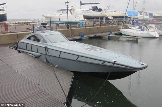 Scuppered: Although the boat is expected to sell for a snip, the winning bidder will have to fork out £4,000 to pay overdue marina fees