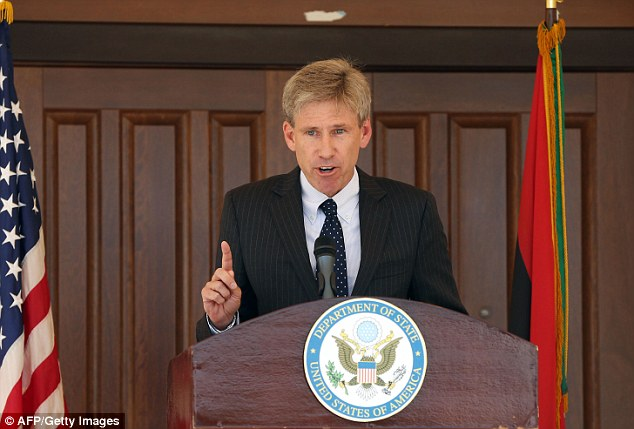 Tragedy: U.S. Ambassador to Libya Chris Stevens was killed in the attack on the embassy
