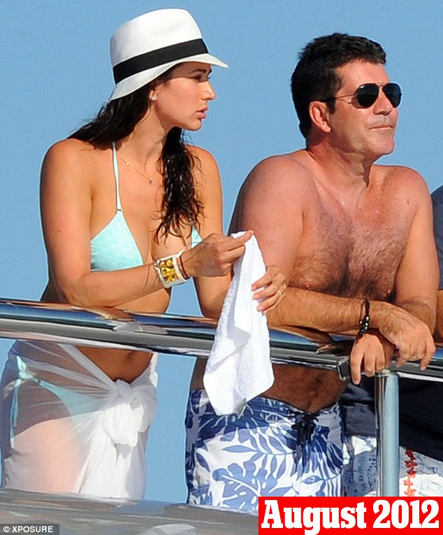 August 9th, 2012: In their second holiday together in less than a year, Cowell and Lauren were pictured in St Tropez once again