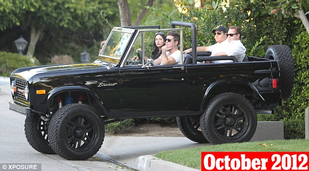 October 28th, 2012: The pair were pictured house hunting alongside som friends in Los Angeles