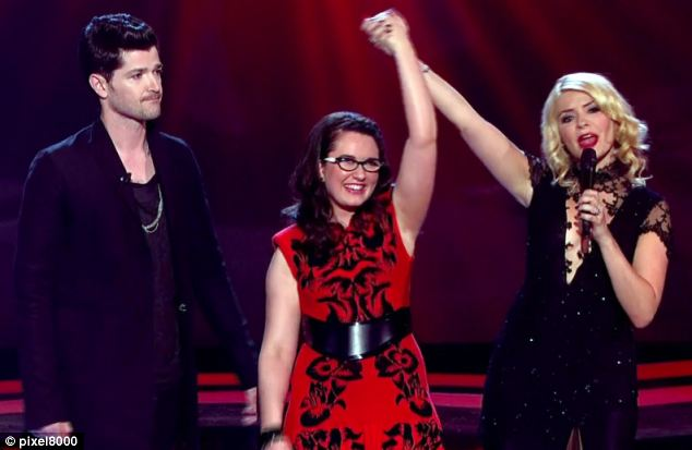 Itchy feet? The Voice presenter could leave BBC's talent show The Voice for an exclusive deal with ITV